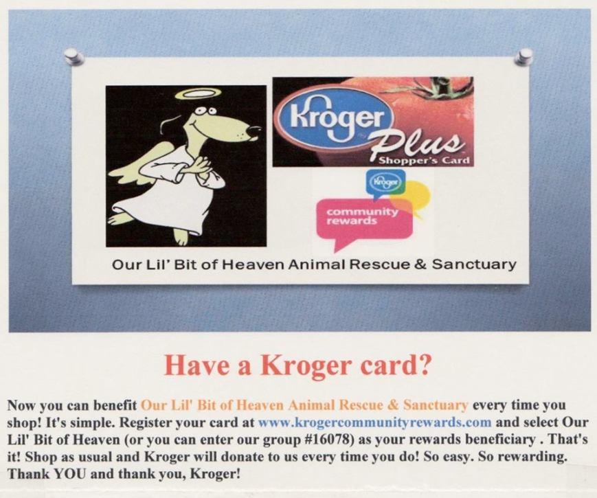 Kroger Card 0317